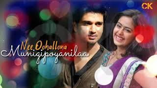 Oohantey Ardhamante Telugu what's app Status/Ekkadiki Pothav Chinnavada