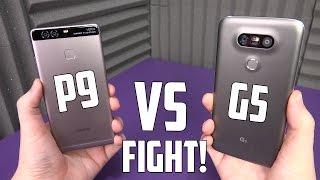 Huawei P9 vs LG G5 Performance Review