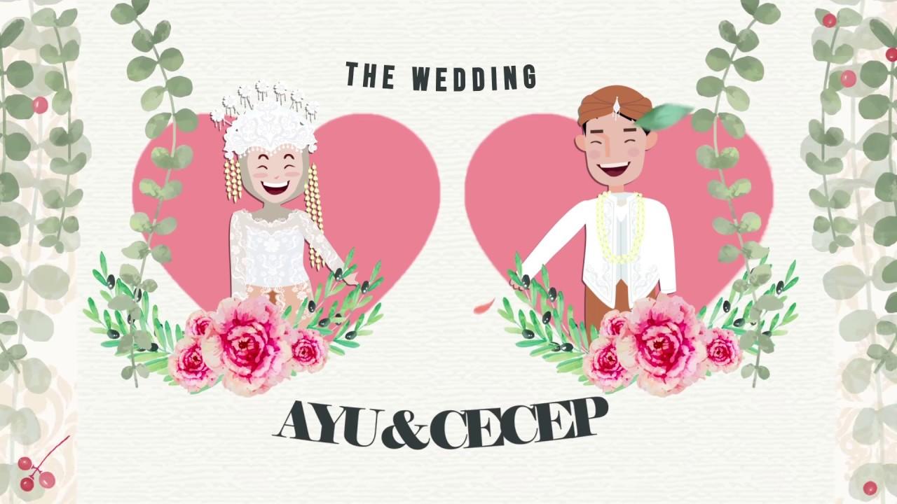Video Undangan Pernikahan Adat Sunda Cecep Dan Ayu