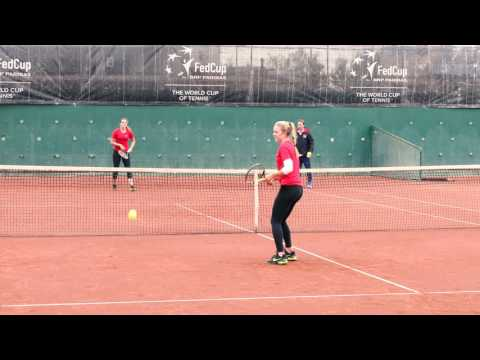 Aegon GB Fed Cup prepare for action in Romania
