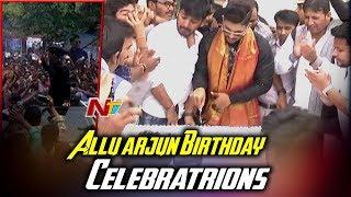 Allu Arjun Birthday Celebrations 2018 | Allu Ar...