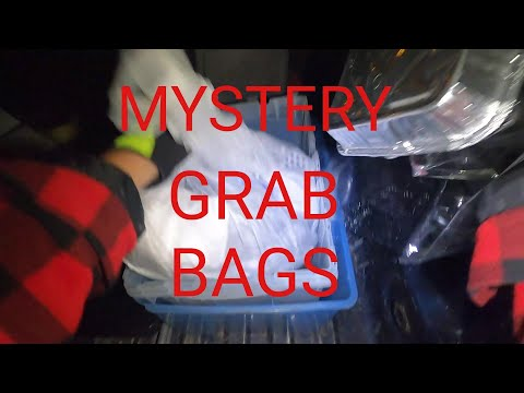 Dumpster Diving Dollar General For Mystery Grab Bags
