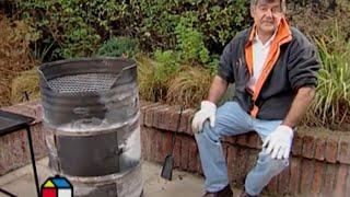 Делаем барбекю из металлической бочки(Как из металлической бочки сделать барбекю? Очень просто! Смотрим подробную видео-инструкцию по производст..., 2016-07-08T11:34:27.000Z)