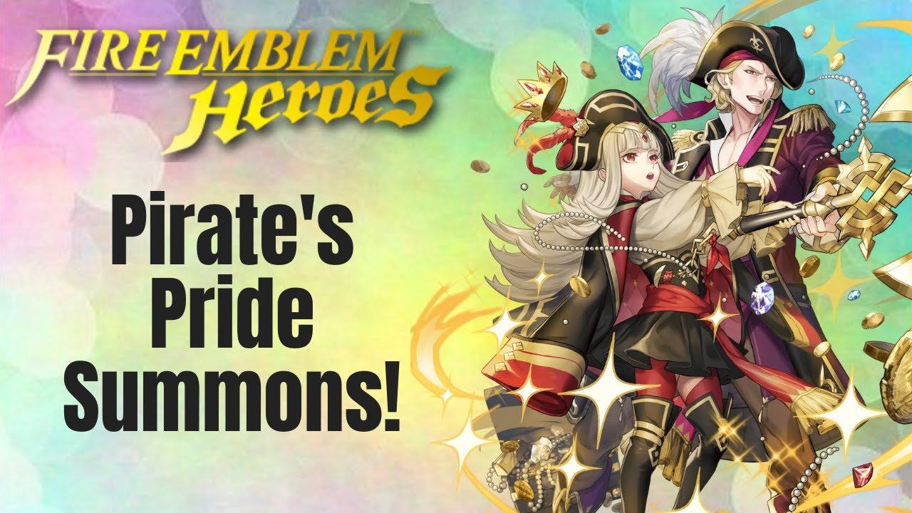 Fire Emblem Heroes: Pirate's Pride Summons!