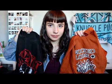 Band Merch Collection 2017