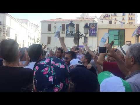 الجزائر متظاهرون يهتفون ضد قائد الجيش - نشر قبل 5 ساعة