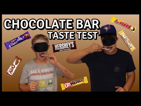 CRAZY CHOCOLATE BAR TASTE TEST