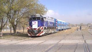 G-26HCW-2 #1001 + Tren Solidario ingresando a Zapala (16-05-15)