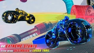 Tron Bike Stunt Racing 3d Stunt Bike Racing Games Gameplay