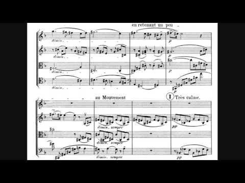 Vincent D'Indy - String Quartet No. 1 In D Major