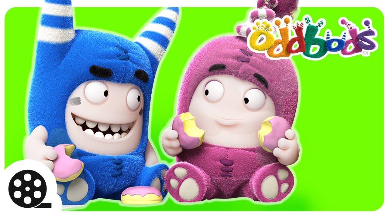Oddbods | Food Fiasco #1 | Funny Cartoons For Kids