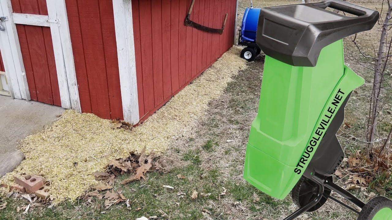 Harbor Freight Electric Chipper Shredder Unboxing Review 61714