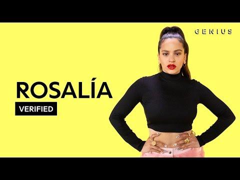 """ROSALÍA """"Con Altura"""" Letra Oficial Y Significado   Verified"""