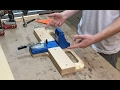 Kreg Jig Rig - Quick and Easy