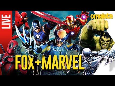 X-Men na Marvel! O bom e o ruim no caso Fox/Disney | OmeleTV AO VIVO