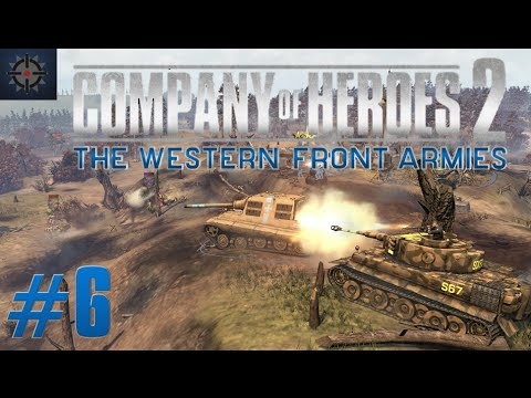 Company of Heroes 2 The Western Front Armies Online Commentary #6 - King of the Hill