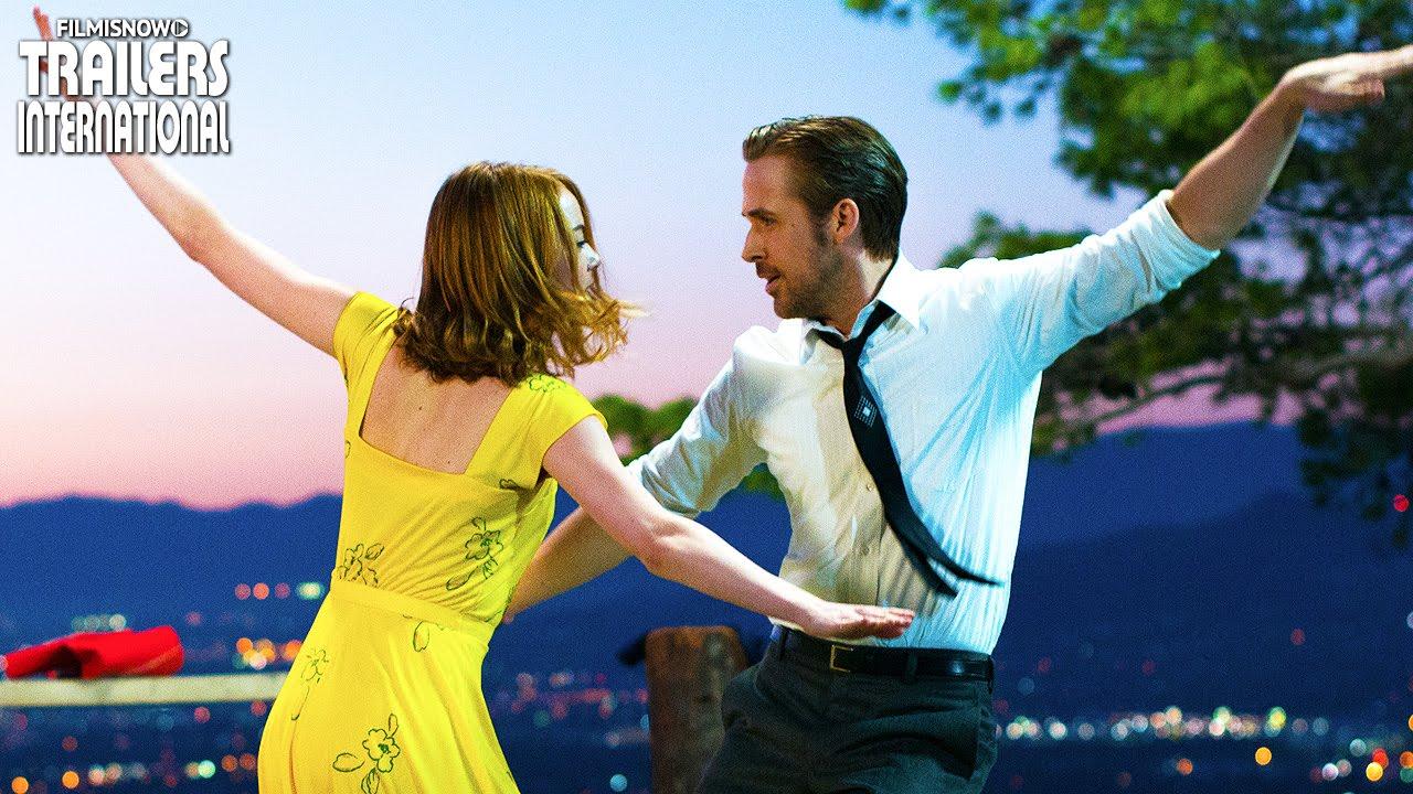 La La Land Cantando Estacoes Com Ryan Gosling Emma Stone Teaser Trailer Youtube