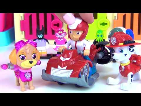 Thumbnail: WRONG HEADS! Lego Disney Jr Mickey Minnie Mouse, Daisy Donald Duck Paw Patrol Magical Pup House TUYC