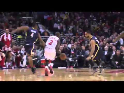 Bulls vs Pacers | Game Recap | NBA 2012-13 Season Dec 4, 2012