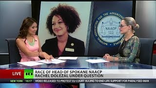 Black or White? Race of Spokane NAACP head under question
