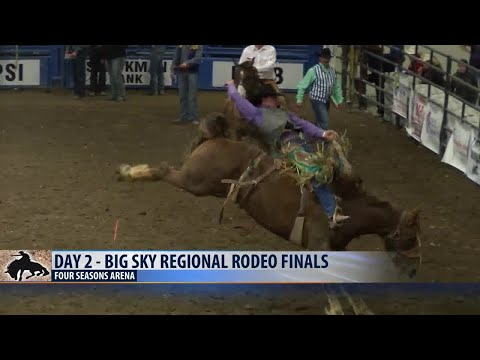 Finalists are set after day 2 of Big Sky Regional Rodeo Finals