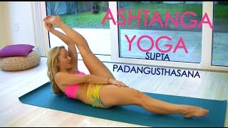 Ashtanga Yoga: Supta Padangusthasana with Kino