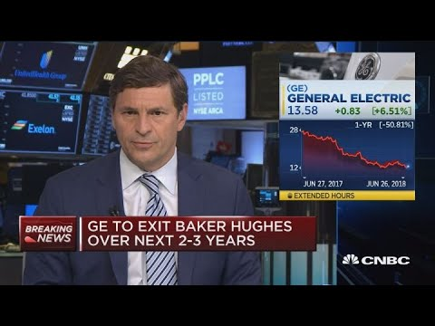 GE plans to shed its stake in Baker Hughes