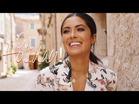 Chatty GRWM: Vacation Makeup, Speaking Spanish, Upload Schedule | Melissa Alatorre