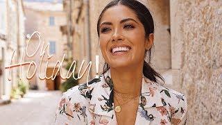 Chatty GRWM: Vacation Makeup, Speaking Spanish, Upload Schedule | Melissa Alatorre