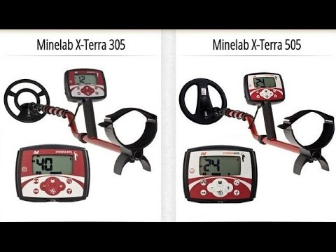Сравнения x-terra 305 с 505 и mono с dd-катушкой - uplay.us.