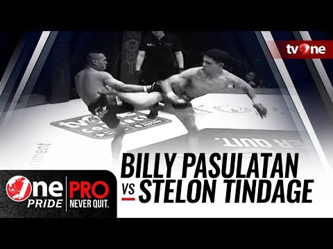[HD] Billy Pasulatan vs Stelon Tindage || One Pride Pro Never Quit #25 Mp3