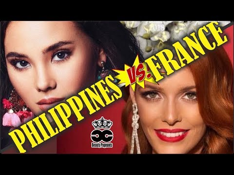Philippines VS. France - Road to  Miss Universe 2018