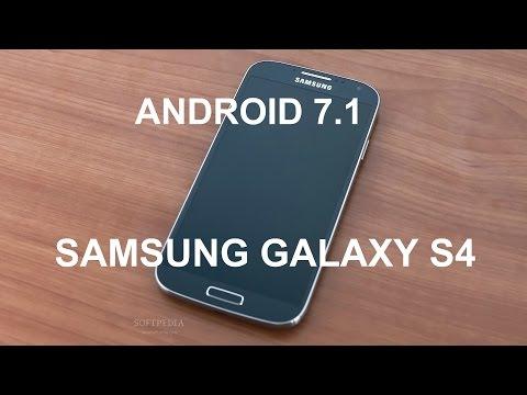 Как установить Android 7.1 на Samsung Galaxy S4/Супер прошивка