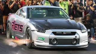 How to Drive a 2,500 Horsepower GT-R