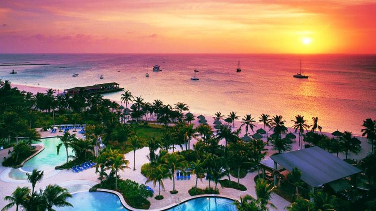 Hilton Aruba Caribbean Hotel Palm Beach Islands 4 Star