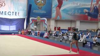 Ksenia Afanasyeva - Russian Nationals 2016 EF - FX 14.567
