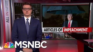 Chris Hayes: The Stakes For Trump's Impeachment Are Very High   All In   MSNBC
