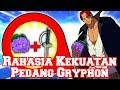 Inilah Rahasia Kekuatan Pedang Gryphon Milik Shanks dan Semua Kru nya (Teori One Piece)