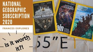 National Geographic Magazine Subscription 2020: IS IT WORTH THE WAIT?! | Frances Explores