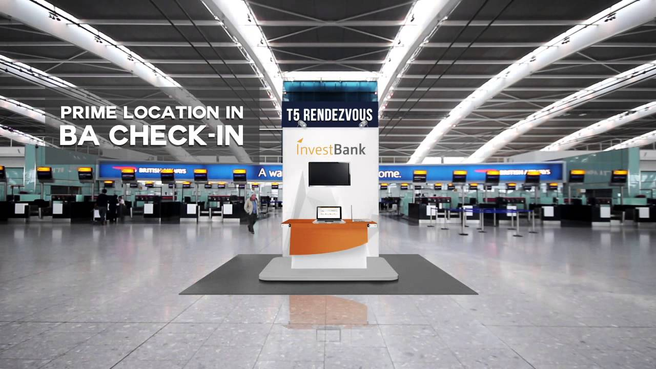 London Heathrow Terminal 5 Experiential Zone