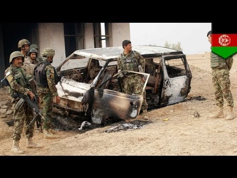 Afghan NATO base attack: 1 soldier and 9 Taliban killed