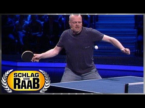 Spiel 8: Tischtennis - Schlag den Raab 52 - YouTube