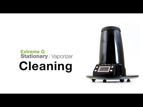 Arizer Extreme Q  Vaporizer Cleaning Tips
