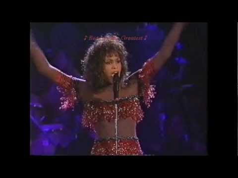 Whitney Houston (LIVE) 'Greatest Love Of All' W/lyrics