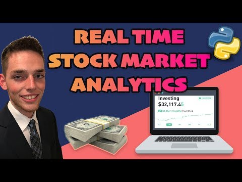 Real Time Stock Market Data Analysis with Python – Five Minute Python Scripts