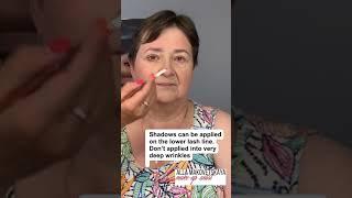 Lifting makeup лифтинг макияж обучение