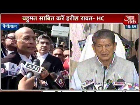 Uttarakhand Crisis: Nainital HC Tells Harish Rawat To Prove Majority