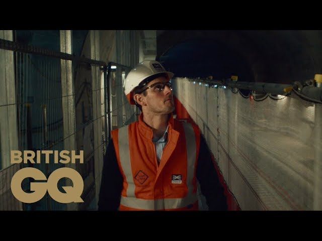 How does a Crossrail engineer keep his career on track? | Wilkinson Sword | British GQ