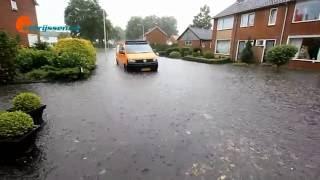 Wateroverlast in Rijssen op 21 juli 2016