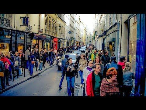 A Walk Down Rue Francs-Bourgeois, Le Marais, Paris